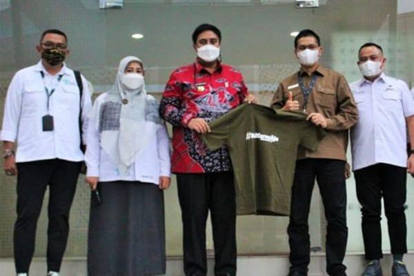 Bupati Maros Chaidir Syam saat kunjungi Kemenparekraf