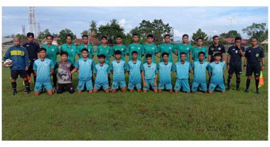 Tim Sepakbola Pra Porpov Maros Laga Uji Coba dengan Selayar